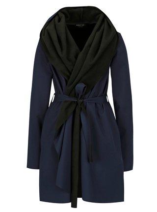 Černo-modrý voděodolný kabát Design by Lucie Jack Dark Blue