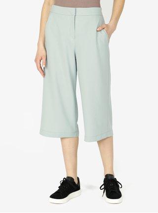 Pantaloni culottes verde deschis cu talie inalta - VERO MODA Isabel