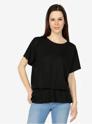 Čierne tričko VERO MODA Costa
