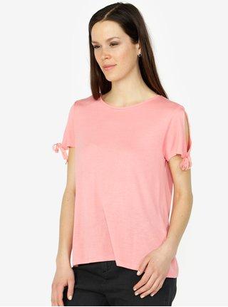Ružové tričko VERO MODA Jemia