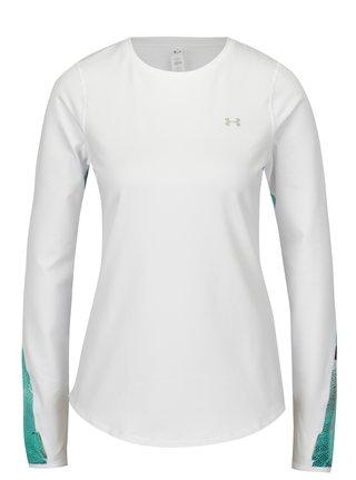 Zeleno-biele dámske funkčné tričko Under Armour ColdGear