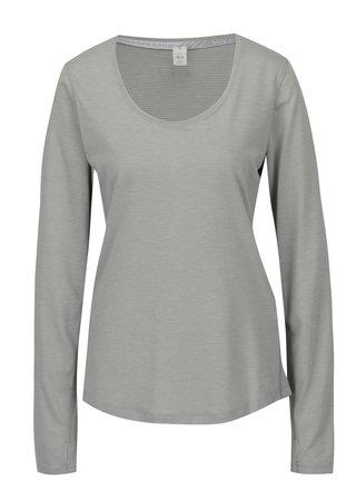 Bluza gri in dungi pentru femei Under Armour Streaker