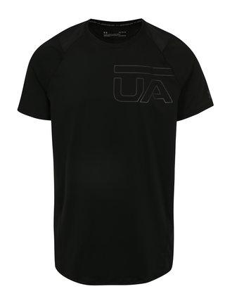 Čierne pánske funkčné tričko s potlačou Under Armour MK1