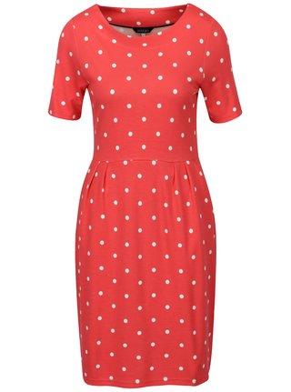 Červené puntíkované šaty Tom Joule Beth