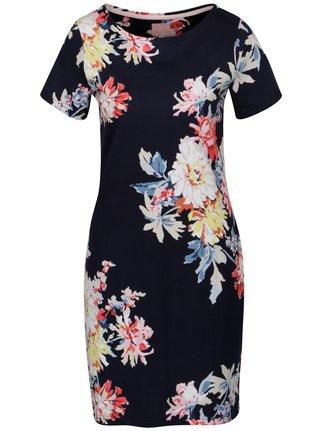 Rochie bleumarin cu print floral Tom Joule Riviera Print