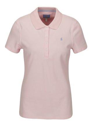Světle růžové polo tričko Tom Joule Pippa