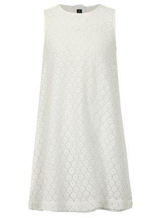 Biele čipkované šaty Blue Seven