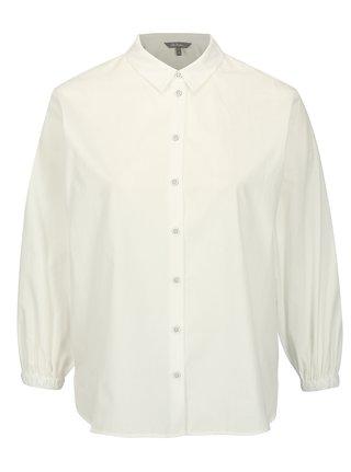 Biela košeľa s 3/4 rukávom Ulla Popken
