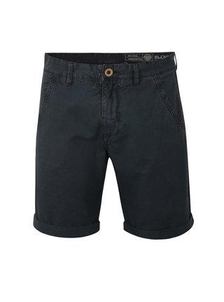 Pantaloni scurti chino bleumarin cu terminatie rasucita - Blend