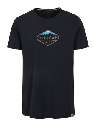 Tmavomodré pánske tričko LOAP Bandos