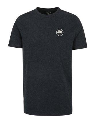 Tmavomodré pánske melírované tričko LOAP Babar