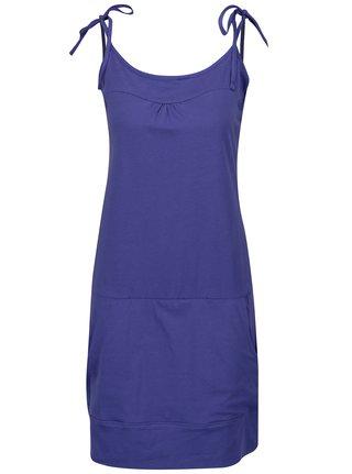Tmavě fialové šaty s kapsami LOAP Alara