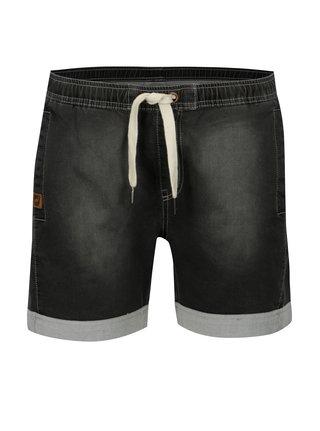 Pantaloni scurti din denim cu snur si tiv rasucit LOAP Devika