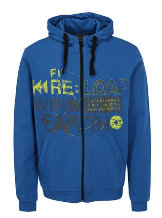 Modrá pánská mikina s kapucí LOAP Doroso