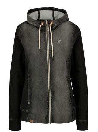 Jacheta din denim gri cu aspect decolorat pentru femei LOAP Danika