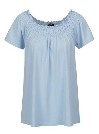 Bluza albastra cu maneci scurte Yest