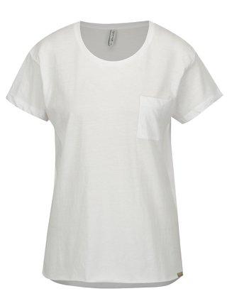 Bílé tričko s rozparky Blendshe Mal