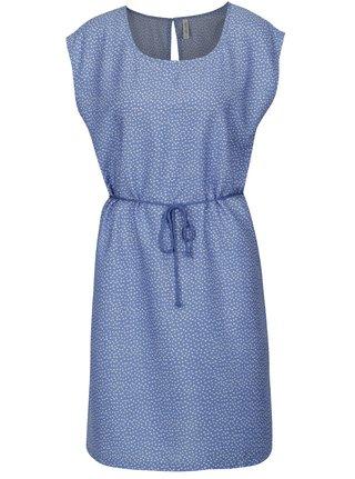 Modré šaty s drobným vzorom Blendshe Mally