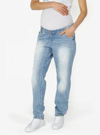Světle modré těhotenské džíny Mama.licious Malaga
