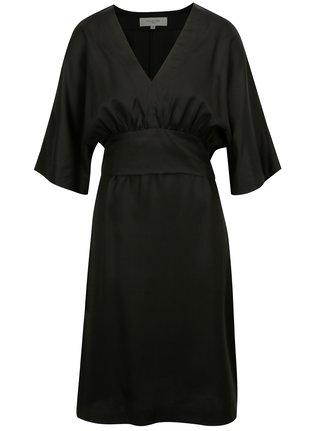 Černý komplet šatů a topu Selected Femme Ada