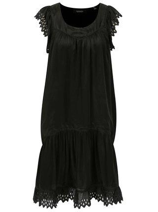 Černé šaty s krajkou Scotch & Soda