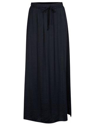 Tmavě modrá maxi sukně VILA Cava