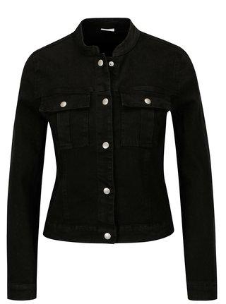 Černá džínová bunda Jacqueline de Yong Five