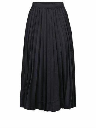 7f90009b991f Čierna plisovaná midi sukňa ZOOT