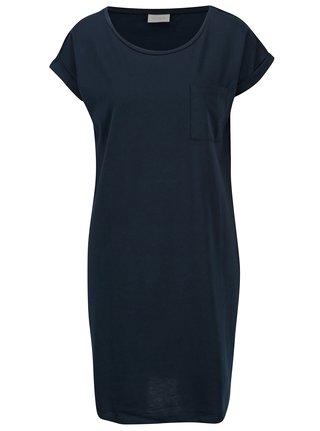 Tmavě modré volné šaty s kapsou VILA Dreamers