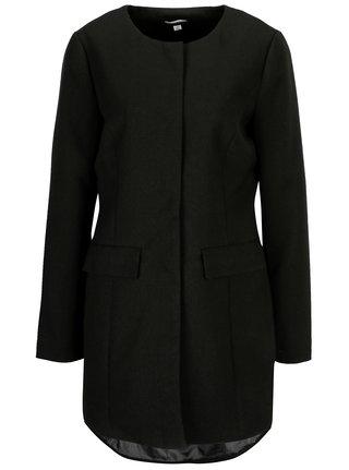Čierny tenký kabát Jacqueline de Yong New Brighton