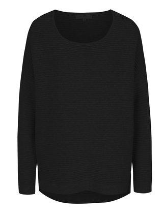 Černý žebrovaný svetr Selected Femme Laua