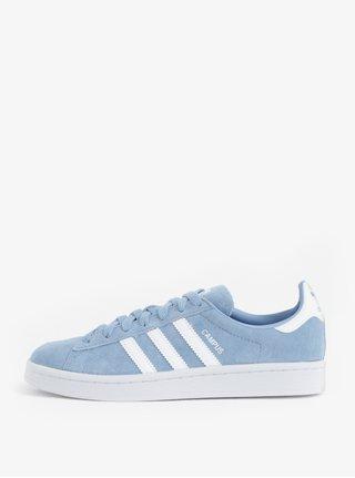 Pantofi de dama sport albastru deschis din piele intoarsa Originals Campus