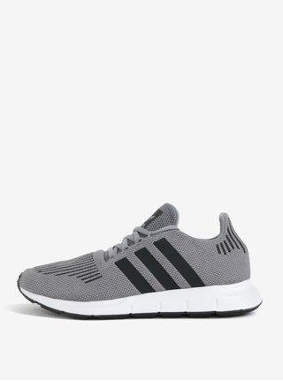 Pantofi sport gri pentru barbati adidas Originals Swift Run