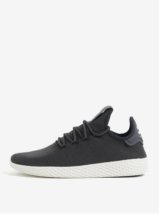 Pantofi sport negri pentru barbati adidas Originals by Pharrell Williams Tennis Hu