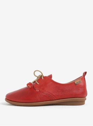 Pantofi rosii din piele naturala Pikolinos Calabria
