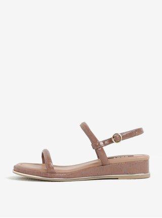 Starorůžové sandály DKNY