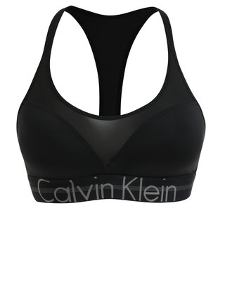 Černá push-up podprsenka Calvin Klein