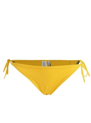 Žlutý spodní díl plavek Calvin Klein