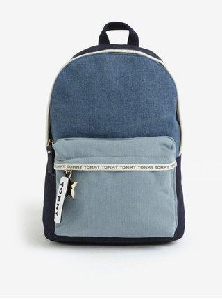 Modrý rifľový batoh Tommy Hilfiger