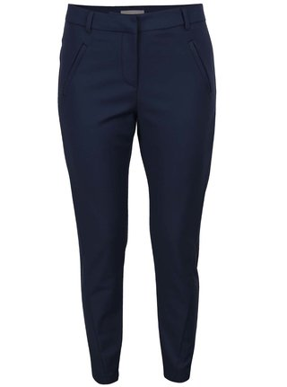 Pantaloni cu croi drept bleumarin VERO MODA Victoria