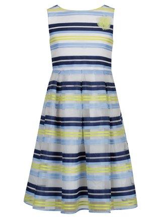 Žluto-modré pruhované šaty 5.10.15.