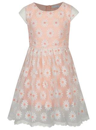 Bielo-ružové kvetované šaty 5.10.15.