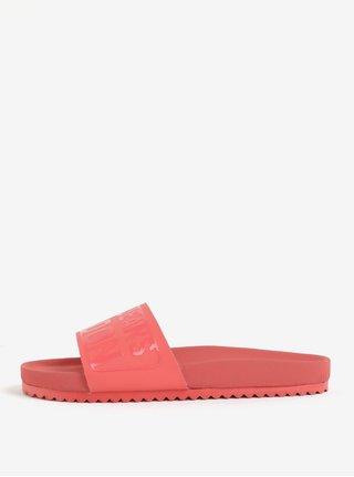 Koralové dámske šľapky Pepe Jeans Bio royal