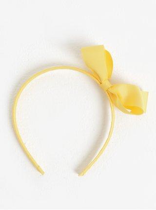 Žltá dievčenská čelenka s mašľou name it Facc-Killa