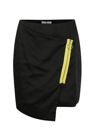 Čierna asymetrická sukňa SH Paranavai