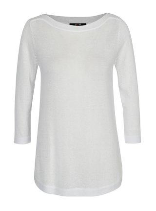Biely tenký sveter Yest