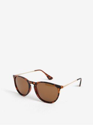 Hnědé dámské sluneční brýle CHPO Roma