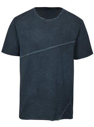 Tmavomodré melírované tričko ONLY & SONS Stewie