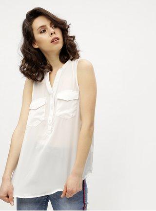 Bílá halenka bez rukávů Haily´s Thea