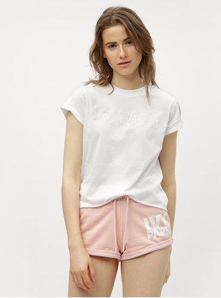 Bílé tričko s potiskem Ivy Park